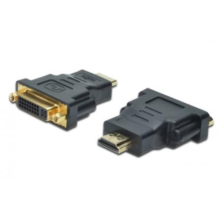 ADAPTADOR DIGITUS HDMI(MACHO) /DVI-I (24+5)(FEMEA)