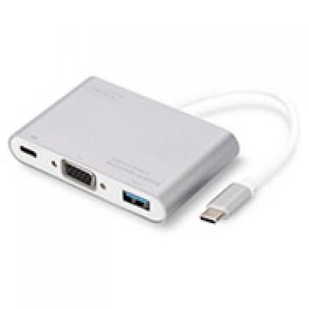 ADAPTADOR DIGITUS USB 3.0 TO VGA/USB TYPE C