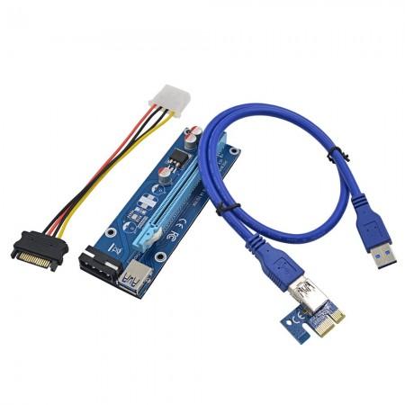 CONVERSOR PCIE RISER CARD 1X A 16X