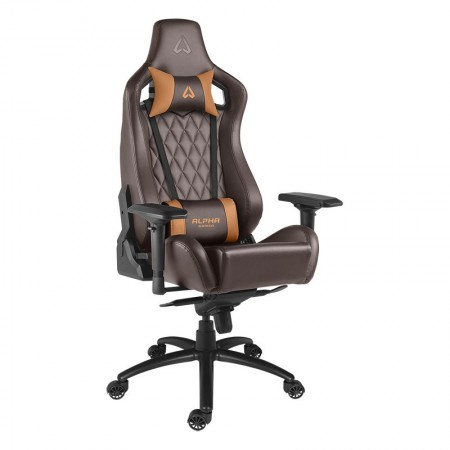 CADEIRA ALPHA GAMER POLARIS - OFFICE - BROWN