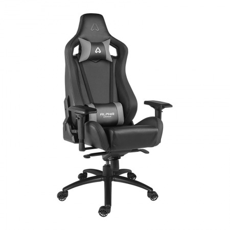 CADEIRA ALPHA GAMER POLARIS RACING - BLACK
