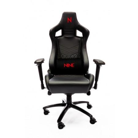 Cadeira Gaming NINE Scarlet - Black
