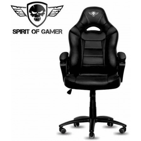 CADEIRA SPIRIT OF GAMER FIGHTER - PRETA