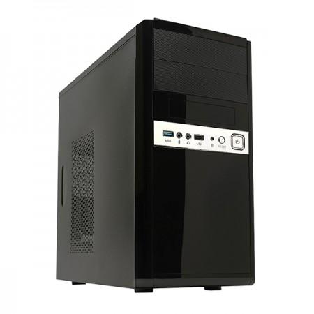 CAIXA UNYKA MICRO ATX 6011 USB 3.0 BLACK C/ FONTE 500W