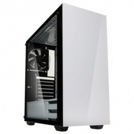 CX E-ATX Kolink Stronghold Branco Vidro Temperado