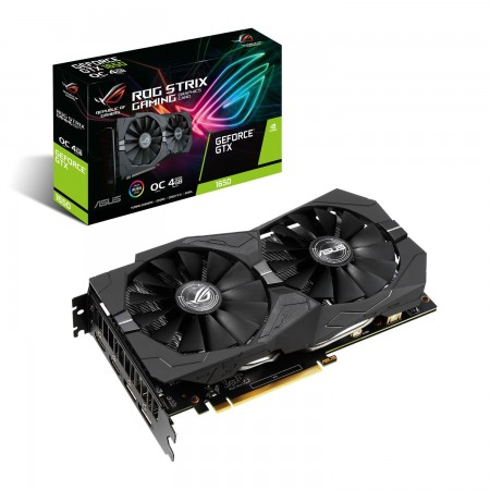 P. Gráfica Asus GeForce GTX 1650 Rog Strix OC 4GB