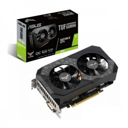 P. GRÁFICA Asus GeForce GTX 1660 SUPER TUF Gaming OC 6GB GDDR6