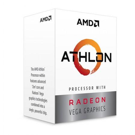 CPU AMD ATHLON SOCKET AM4 200GE 3.2 5MB 2C4T 35W VEGA3 BOX