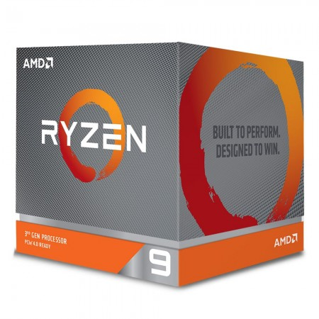 CPU AMD RYZEN 9 3900X 3.8 A 4.6GHZ 70MB 12C24T 105W BOX