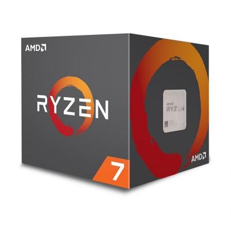 CPU AMD RYZEN 7 2700 Octa-Core 3.2GHz c/ Turbo 4.1GHz 20MB SktAM4