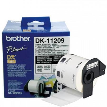 ROLO ETIQUETAS BROTHER 29X62M - 800ETIQ. -  BRODK11209