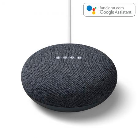 Coluna Inteligente Google Nesti Mini Carbon