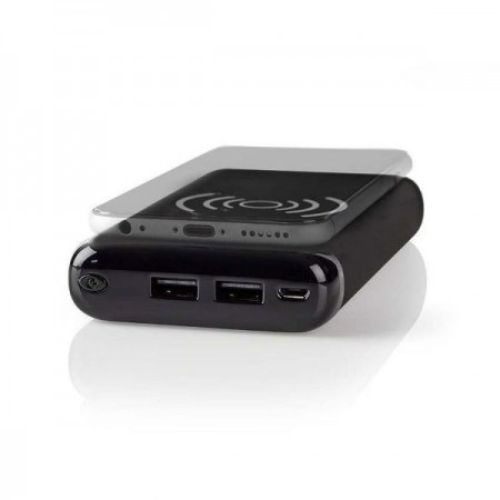 POWERBANK MEDIS Qi & WIRELESS CHARGER 10000Ah 2 USB 2.1A