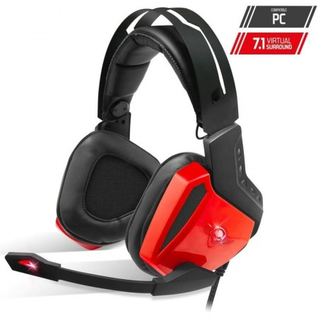 AUSCULTADORES C/ MICRO SPIRIT OF GAMER XPERT-H100 RED LED