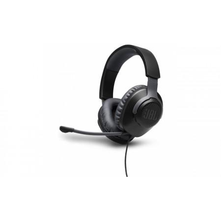 Auscultadores Gaming c/ fio JBL Quantum 100 Over Ear BLACK