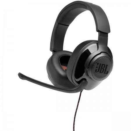 Auscultadores Gaming c/ fio JBL Quantum 200 Over Ear BLACK