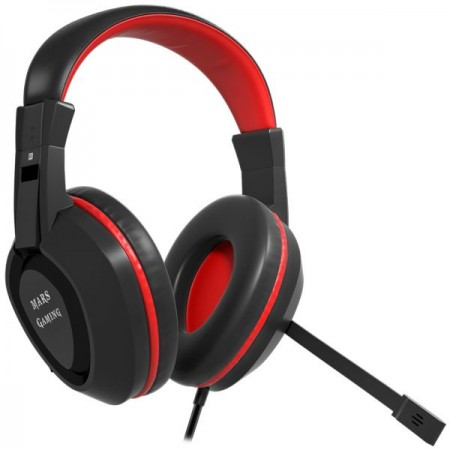 Auscultadores MARS GAMING + Mic, 40mm Neodymium 7.1 positional surround, PS4 comp - MAH1V2