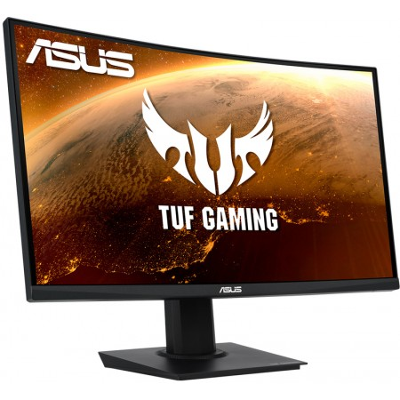 Monitor Asus TUF VG24VQE Curvo 23,6P FHD 165Hz 1ms, DP, HDMI, Gaming Black
