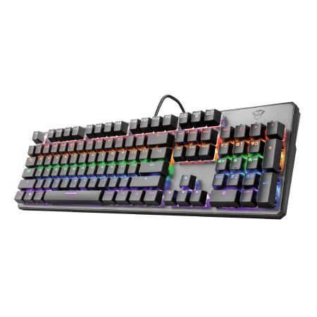 TECLADO TRUST GAMING ASTA GXT865 RGB MECHANICAL PT