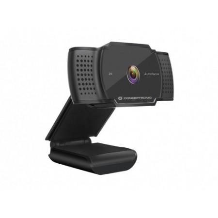 WEBCAM CONCEPTRONIC 2K SUPER HD AMDIS 1080P - AMDIS02B
