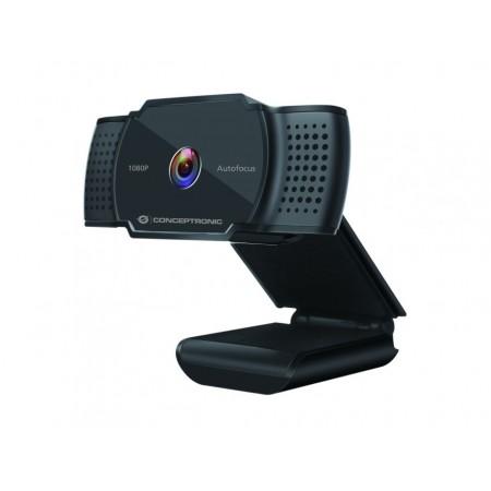 WebCam CONCEPTRONIC AMDIS06B 1080P/2K interpolated  AUTOFOCUS WITH MICROPHONE