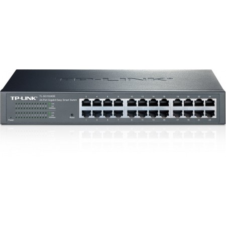 SWITCH TP-LINK 24PORTAS GIGABIT LITE MANAGED, RACK 19, TL-SG1024DE