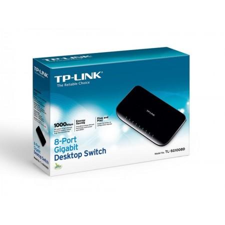 SWITCH TP-LINK 8P SG1008D 10/100/1000 Mbps