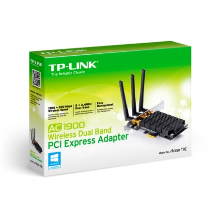 P. REDE TP-LINK WIRELESS PCIE ARCHER T9E AC1900