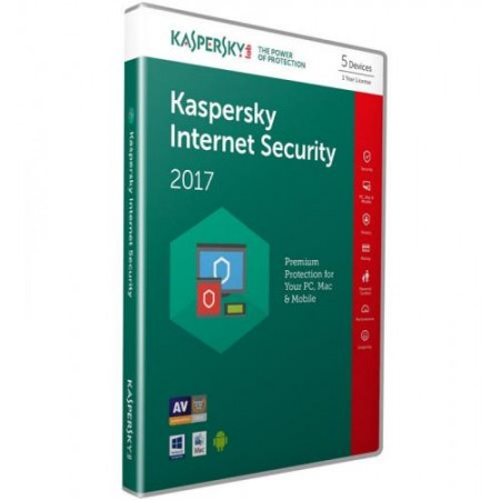 ANTIVIRUS KASPERSKY INTERNET SECURITY 5 USER 1 ANO