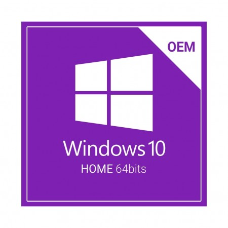 MICROSOFT WINDOWS 10 HOME  64BIT PORT. OEM